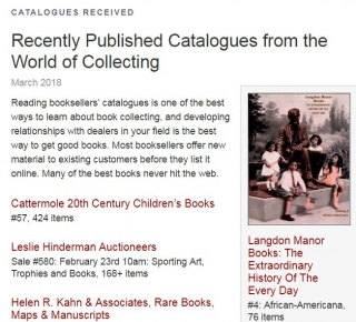 Fine Books and Collections Kindly Posted Our Catalog 4