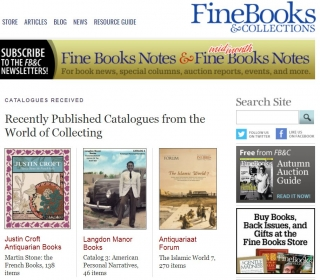 Fine Books and Collections Catalog 3 Inclusion