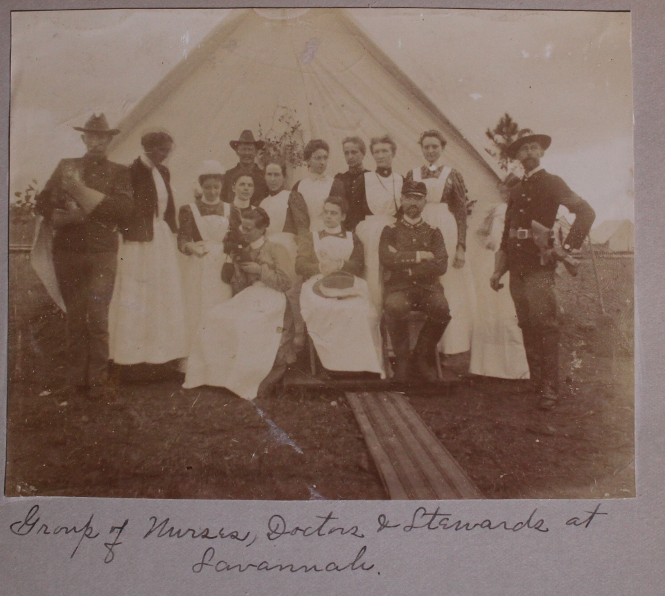 [Women][Nursing][Spanish-American War][Native Americans]photo Album Likely Compiled by an...
