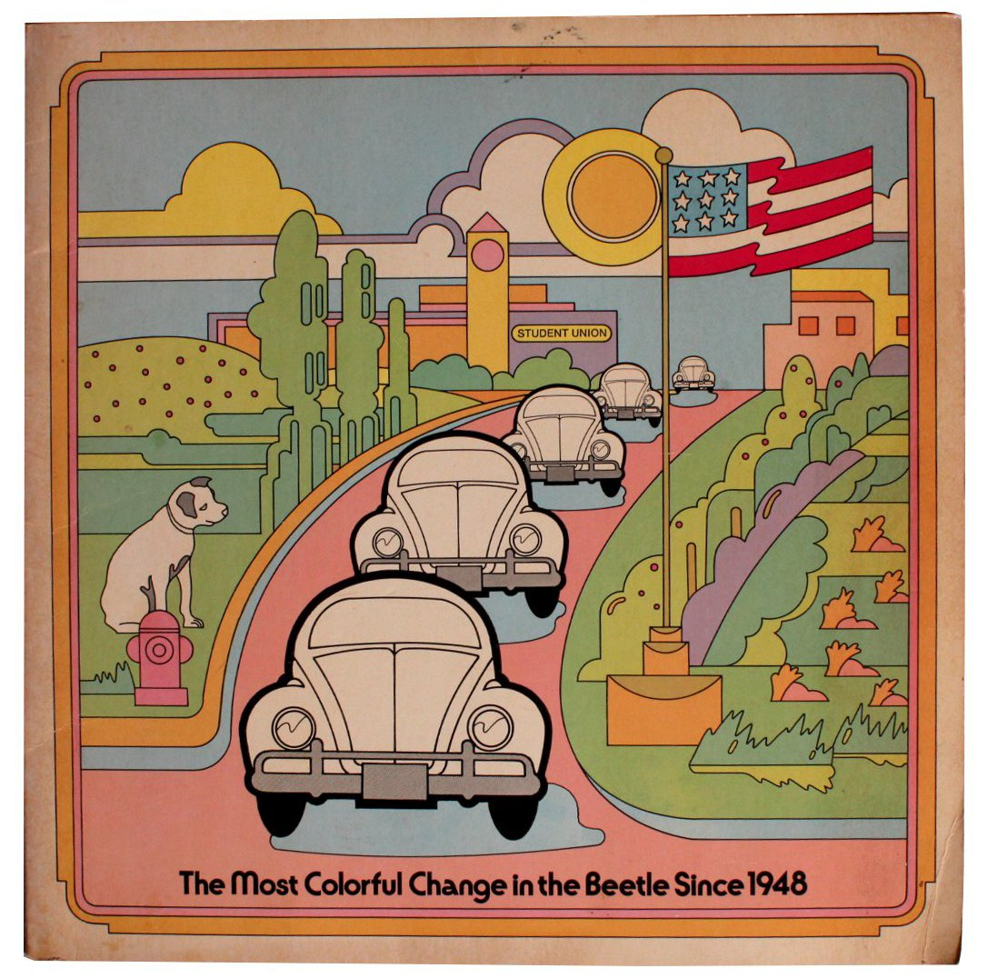 Rare Beetleboards of The Most Colorful Change in the Beetle Since 1948 [Cover Title