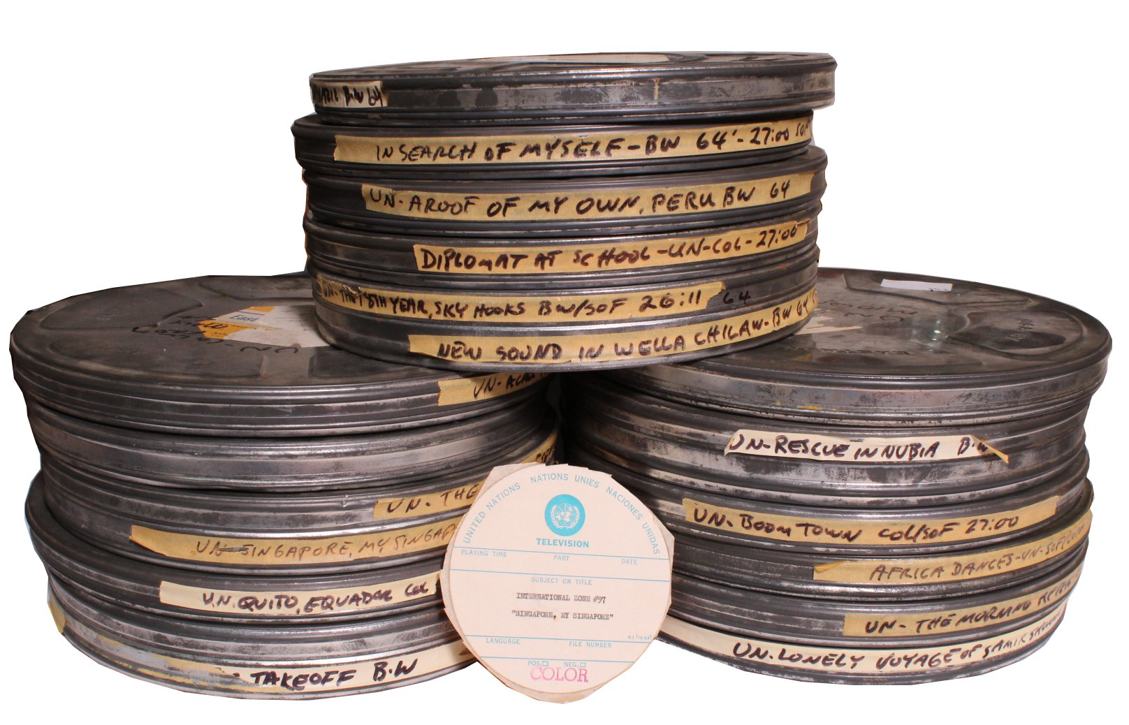 United Nations International Zone Film Collection