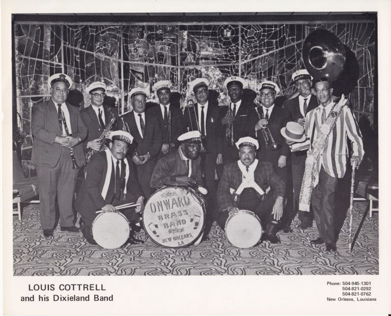 Louis Cottrell and His Dixieland Band. Louis Albert Cottrell Jr.