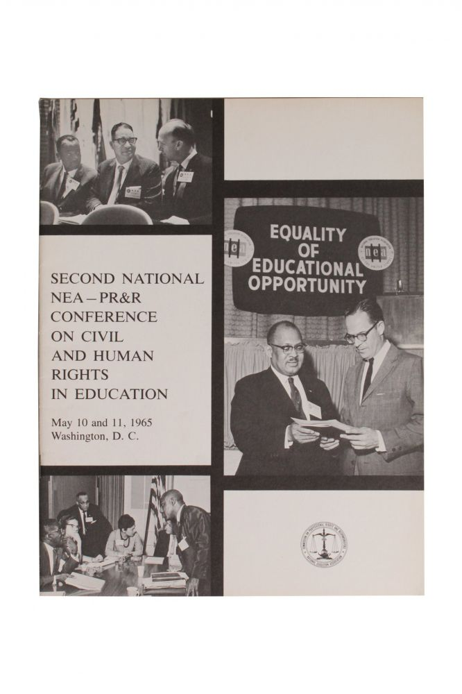 [Civil Rights][Education]Second National NEA—PR&R Conference on Civil and Human Rights in Education [Cover Title].
