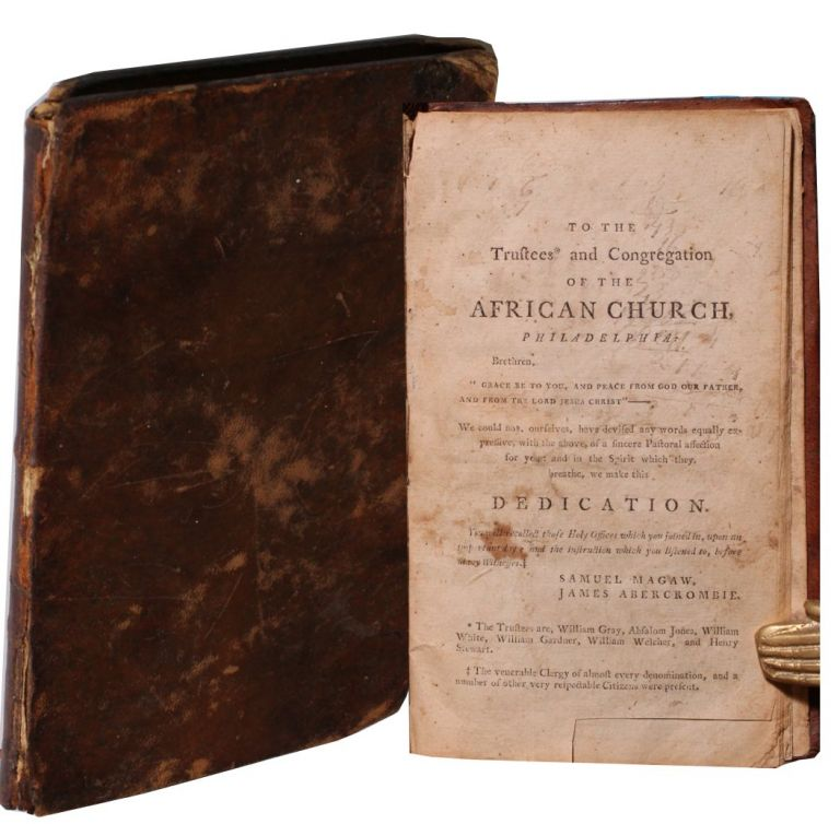 [African Americana][Religion] a Discourse Delivered July 17, 1794, in the African Church of the City of Philadelphia, on the Occasion of Opening the Said Church, and Holding Public Worship in it the First Time. Samuel Magaw.