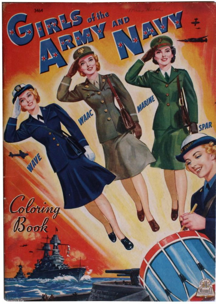 [Women][World War II] Girls of the Army and Navy.