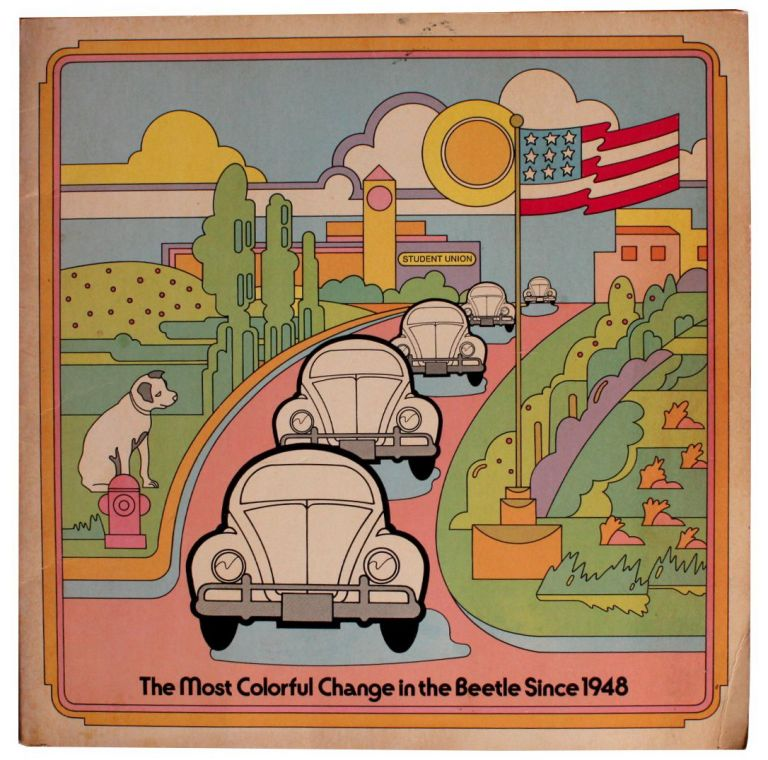 Rare Beetleboards of The Most Colorful Change in the Beetle Since 1948 [Cover Title].