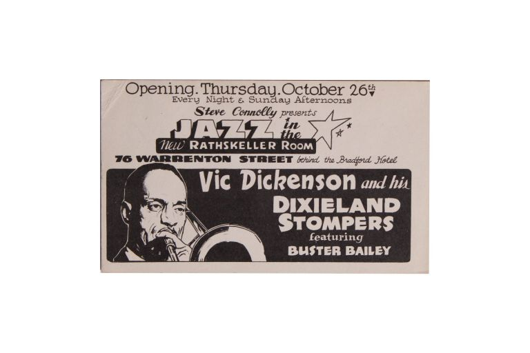 [Jazz][African Americana] VIC Dickenson and His Dixieland Stompers. Vic Dickenson.