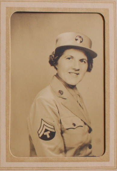 Small Collection of Documents Related to a WAC Stationed in Fort Sill. Gladys K. Crawford.