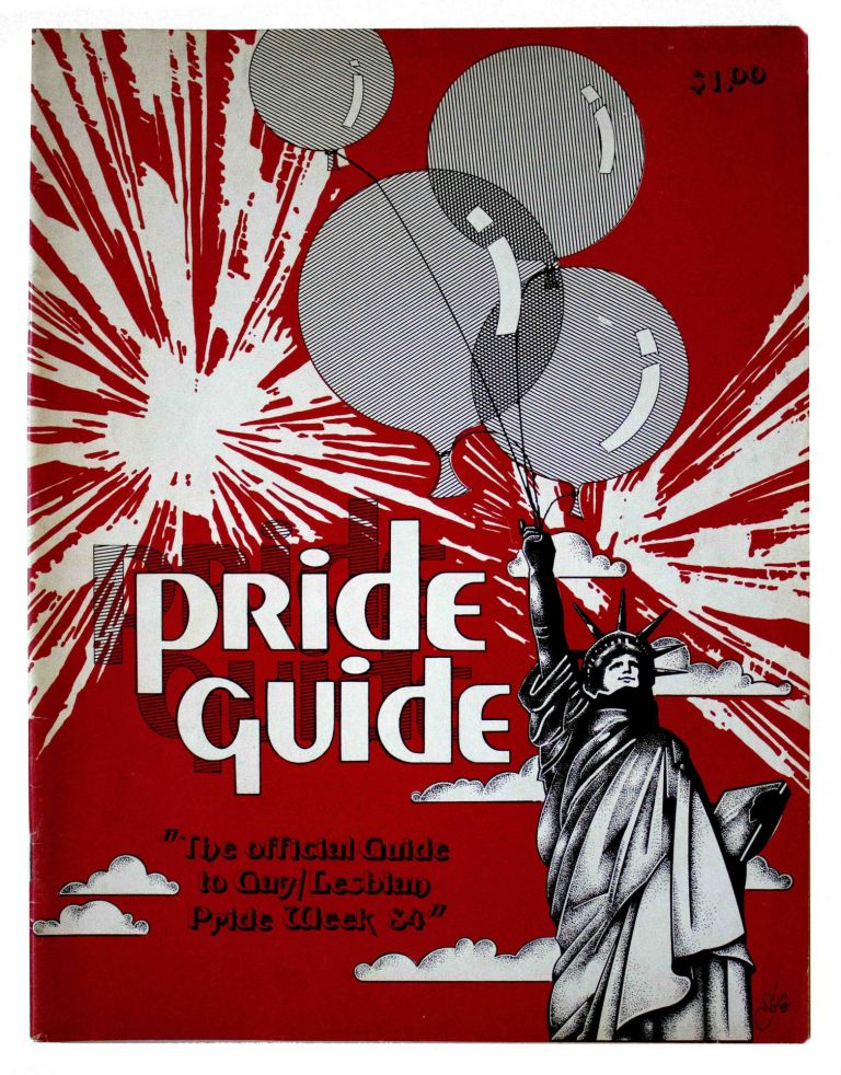Pride Guide '84: 1984-the 15th Anniversary of Stonewall.