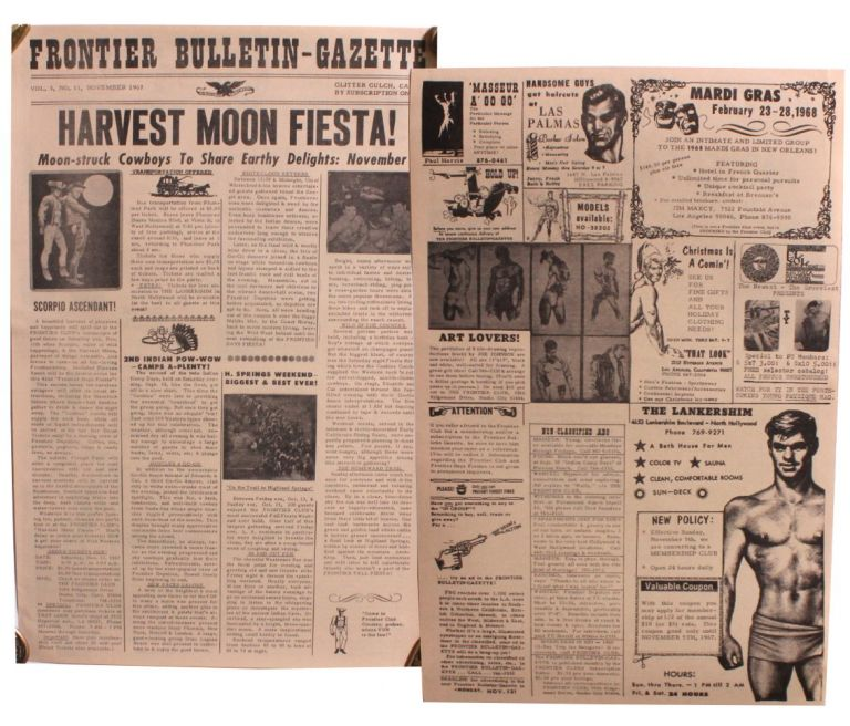 Frontier Bulletin-Gazette. Vol. 3, No. 11 [November 1967].
