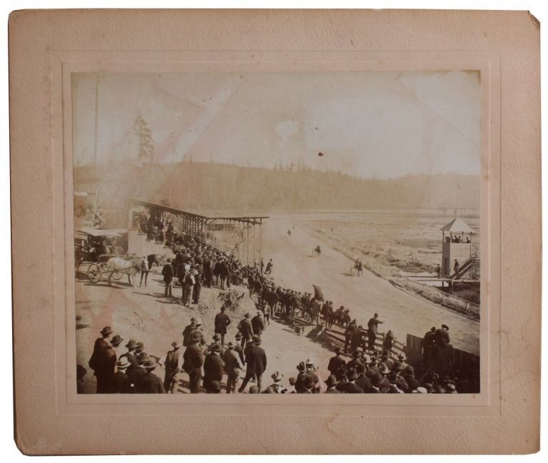 Photographs Depicting Marshfield Horse Race Track.