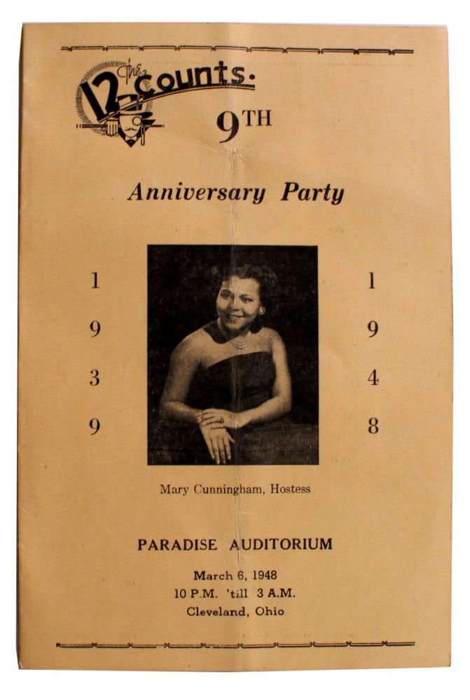 The 12 Counts 9th Anniversary Party [Cover Title].