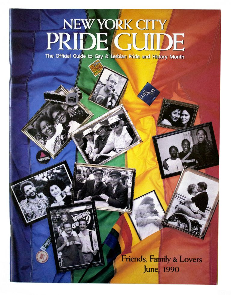 New York City Pride Guide: The Official Guide to Lesbian & Gay Pride Month.