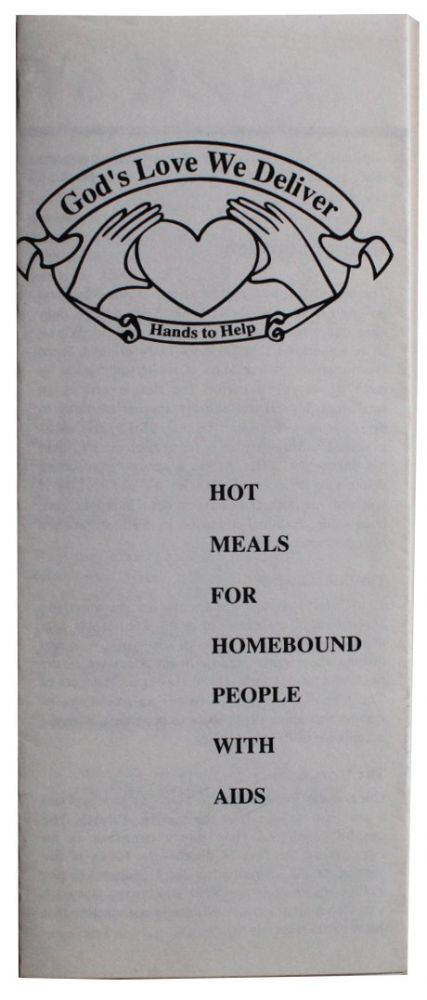 Hot Meals for Homebound People with AIDS.