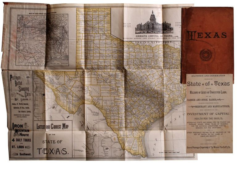 Statistics and Information Concerning the State of Texas With Its Millions of Acres of Unoccupied Lands . . .