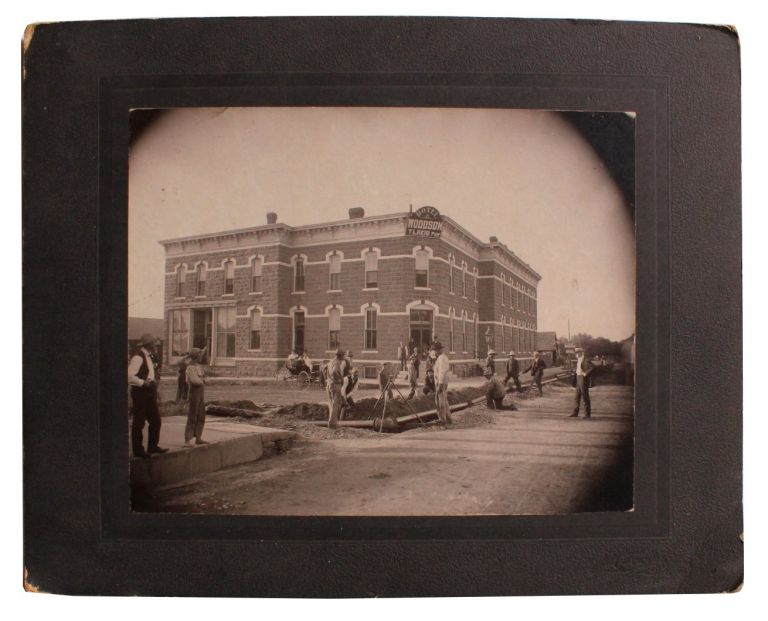 Early Photograph of the Woodson Hotel.