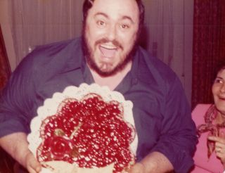 [Entertainers][Music][Opera] Vernacular Photo Album Featuring Luciano Pavarotti. Luciano Pavarotti.