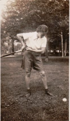 [Women][Sports] Photo Album Depicting a Camp Created by the Founder of Women's Field Hockey in the United States.