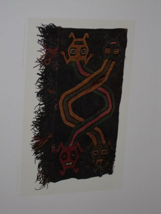 Textiles of Pre-Inca from Burying Grounds in Peru.