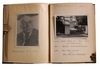 Photo Album Given to Joseph Biermann of the High Commission of Germany (HICOG) after World War II.
