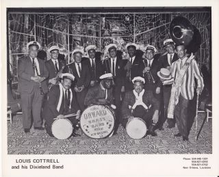 Louis Cottrell and His Dixieland Band. Louis Albert Cottrell Jr