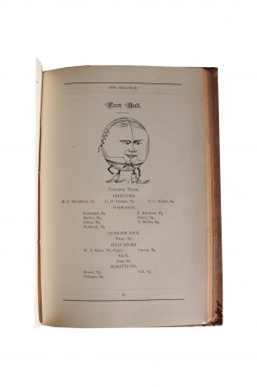 Early American Football] Four Lafayette College Yearbooks and Semi-Centennial Commencement Address