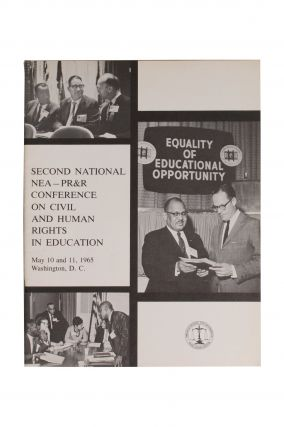 [Civil Rights][Education]Second National NEA—PR&R Conference on Civil and Human Rights in...