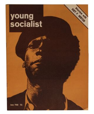 Young Socialist. Vol. 11, No. 9 (87). June 1968. Huey Newton Cover. Huey Newton