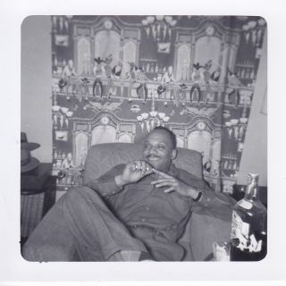Photographs of Cecil Young and His Band-mates Hanging Out in an Apartment and Including Images of Sarah Vaughn.