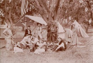 Photo Album Documenting the Fifth-Ever General Meet of the American Canoe Association