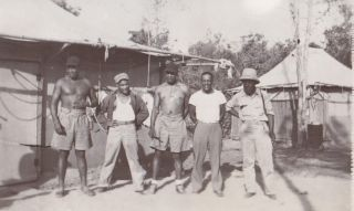 [African Americana][Militaria][World War II] Photo Album Depicting the 1888th Engineer Aviation Battalion. Frank B. Minnis.