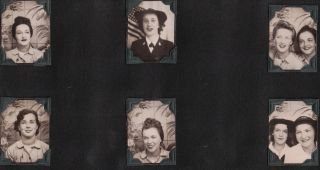 [Women][World War II][WAVES]Photo Album of a WAVE.