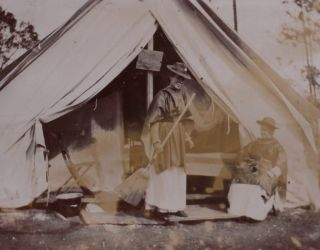 [Women][Nursing][Spanish-American War][Native Americans]photo Album Likely Compiled by an American Nurse Serving in the Spanish-American War.