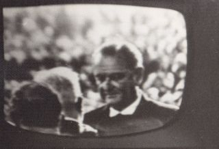 Television Screen Shots of Second Inauguration of Lyndon B. Johnson