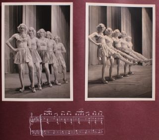 Artsy Album Depicting German Soldiers Performing for Charity.