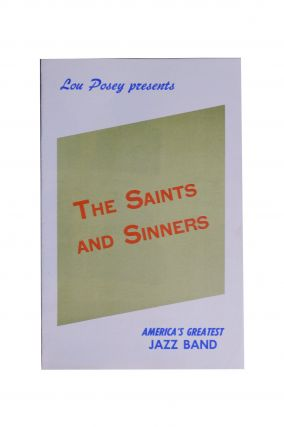 Jazz] Lou Posey Presents the Saints and Sinners America's Greatest Jazz Band