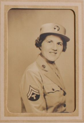 Small Collection of Documents Related to a WAC Stationed in Fort Sill. Gladys K. Crawford