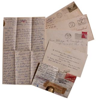 Small Collection of Documents Related to a WAC Stationed in Fort Sill.