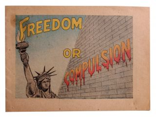 Freedom or Compulsion [Cover title