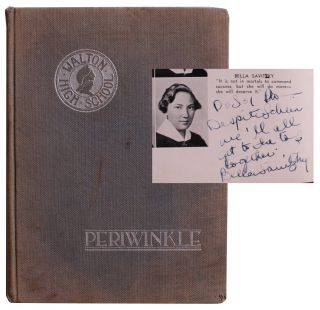 The Walton Periwinkle. [High School Yearbook Featuring Bella Abzug's Inscribed Senior Class...