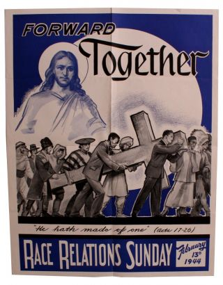 Forward Together [Poster for Race Relations Sunday