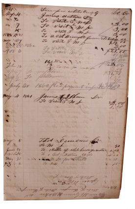 Medical Practice and General Store Ledger.