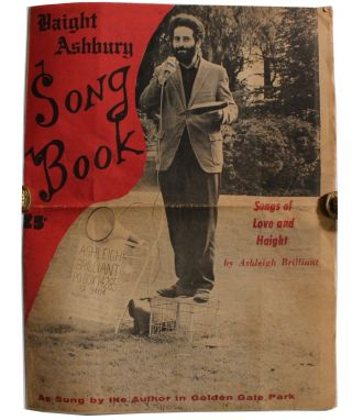 Haight-Ashbury Song Book: Songs of Love and Haight. Ashleigh Brilliant