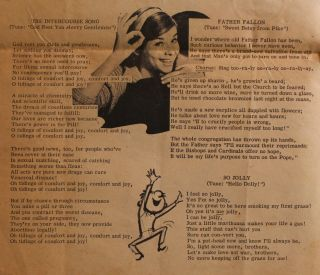 Haight-Ashbury Song Book: Songs of Love and Haight.