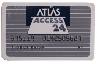 ATM Card for the First Gay Financial Institution in the United States