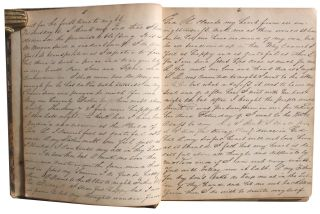 Journal of Young Woman's Conversion to Methodism and Her Constant Internal Struggle That Followed