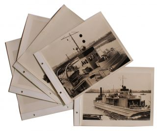 [United States Navy][Shipbuilding]photo Album of United States Navy Ship Constructed by James Russell Boiler Works Company.