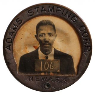 Adams Stamping Corporation Employee Identification Badge