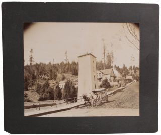 Turn of the Century Marshfield Oregon Photograph. J. W. Briggs, Photographer