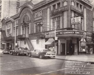 Photo Album Documenting the Hill Street Urban Renewal Project. Ace Alagna